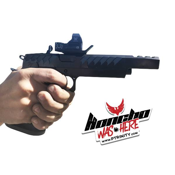 The Honcho 1911 Double Stack - Race Ready model.
